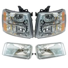 07-14 Chevy Silverado Front Lighting Kit (4 piece)