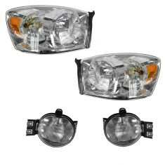 06-08 Dodge Ram Truck Lighting Kit w/o Amber Bar (4 Piece)