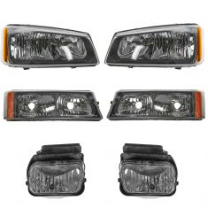 05-07 Chevy Silverado Front Lighting Kit (6 Piece)
