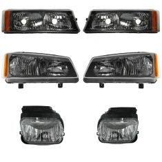 04 Chevy Silverado Front Lighting Kit (6 Piece)