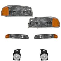 03-04 GMC Sierra Front Lighting Kit (6 Piece)