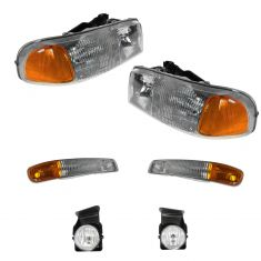 04-07 GMC Sierra Front Lighting Kit (6 Piece)