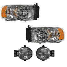 02-05 Dodge Ram Truck Front Lighting Kit (4 Piece)