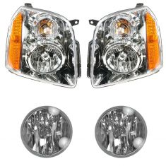 07-14 GMC Yukon Front Lighting Kit (4 Piece)