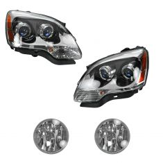 07-09 GMC Acadia Front Lighting Kit (4 Piece)