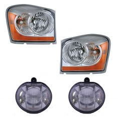 06 Dodge Durango Frong Lighting Kit (4 Piece)