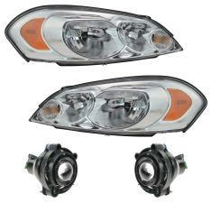 06-07 Chevy Monte Carlo 06-13 Impala Front Lighting Kit (4 Piece)