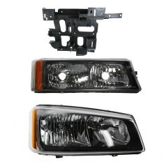 05-07 Chevy Silverado Front Lighting Kit RH (3 Piece)