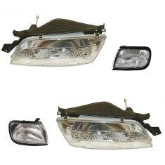 1995-96 Nissan Maxima Front Lighting Kit (4 Piece)
