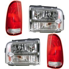 05-07 Ford Super Duty Truck Lighting Kit (4 Piece)