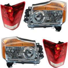 08-15 Nissan Titan w/ Utility Bed Lighting Kit (4 Piece)