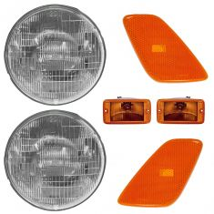 01-06 Jeep Wrangler Front Lighting Kit (6 Piece)