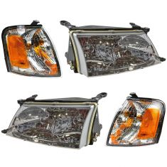 98-99 Toyota Avalon Front Lighting Kit (4 Piece)