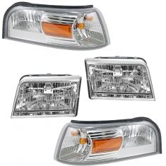 06-11 Mercury Grand Marquis Front Lighting Kit (4 Piece)