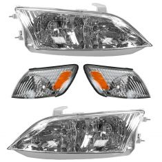 00-01 Lexus ES300 Front Lighting Kit (4 Piece)
