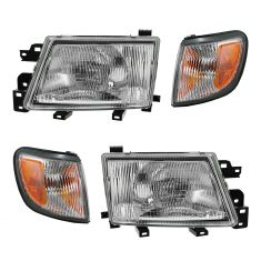 99-00 Subaru Forester Front Lighting Kit (4 Piece)