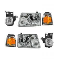 06-07 Ford Ranger (exc STX) Front Lighting Kit (6 Piece)