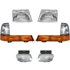 98-00 Ford Ranger Front Lighting Kit (6 Piece)
