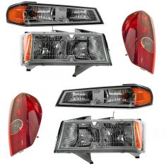 04-12 Canyon; Colorado Front & Rear Lighting Kit (6 Piece)