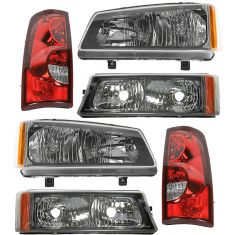 03 Chevy Silverado Front & Rear Lighting Kit (6 Piece)