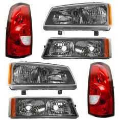 04 Chevy Silverado Front & Rear Lighting Kit (6 Piece)