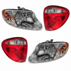 04-07 Chrysler Mini Van Front & Rear Lighting Kit (4 Piece)