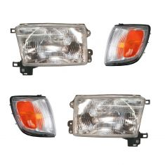96-97 Toyota 4Runner Front Lighting Kit (4 Piece)