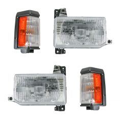 88-95 Nissan Pickup Pathfinder Front Lightinh Kit (4 Piece)