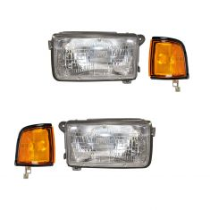 94-97 Honda Passport; 91-97 Isuzu Rodeo Front Lighting Kit (4 Piece)