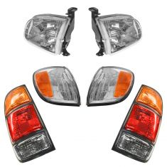 00-04 Toyota Tundra Front & Rear Lighting Kit (6 Piece)