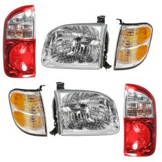 04 Toyota Tundra Front & Rear Lighting Kit (6 Piece)