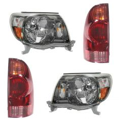 05-08 Toyota Tacoma (w/ Sport Package) Front & Rear Lighting Kit (4 piece)