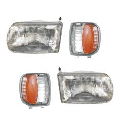 94-97 Mazda B Series Truck Lighting Kit (4 Piece)