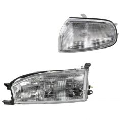 92-94 Toyota Camry Lighting Kit LH (2 piece)