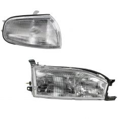 92-94 Toyota Camry Lighting Kit RH (2 piece)