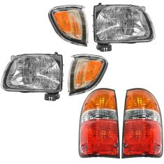 01-04 Toyota Tacoma Front & Rear Lighting Kit (6 Piece)