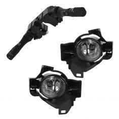07-09 Altima Sedan (w/Auto Headlights) Combo Switch w/Fog Lights Upgrade Installation Kit (Nissan)
