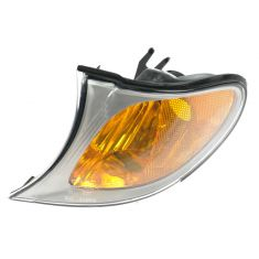 2002-05 BMW 3 Series Sedan & SW Corner Light w/Chrome Trim LF