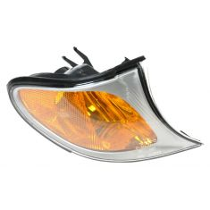 2002-05 BMW 3 Series Sedan & SW Corner Light w/Chrome Trim RF