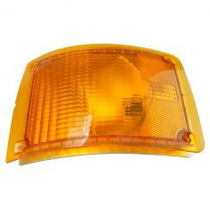 90-02 International 3000, 3600, 3800, 4700, 4800, 4900, 8100 Series Front Turn Signal Lens & Hsg LF
