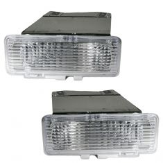 94-97 S10 S15 Bumper Mounted Parking Light Pair