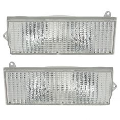 84-96 Jeep Cherokee Parking Light Pair