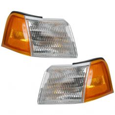 89-95 Cougar T-bird Corner Light Pair