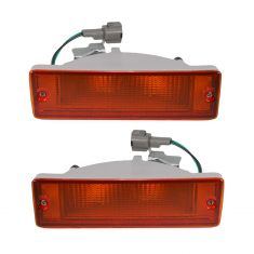 88-97 Nissan PU Truck Bmp Mtd Park Light Pair