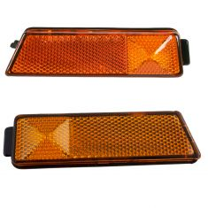 93-99 VW Volkswagen Side Jetta Golf Marker Lamp Front Pair
