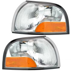 99-00 Villager Quest Park Lamp Turn Signal Pair