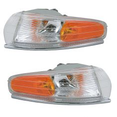 1994-97 Chrysler PairS New Yorker Park Lamp Signal Pair