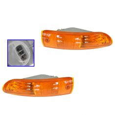 2002-05 Mitsubishi Eclipse Turn Signal Light Pair