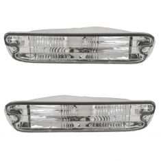 95-97 Mercury Grand Marquis Park Light Bumper Mounted Pair