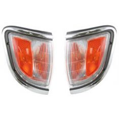 95-96 Toyota Tacoma Signal Light Chrome Pair